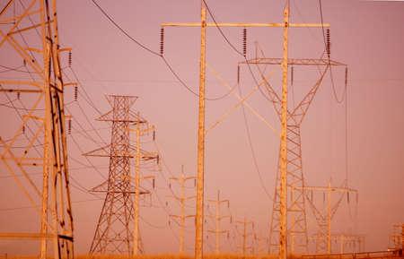 tanasiuk: Power lines at dusk