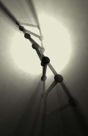 DNA strand.