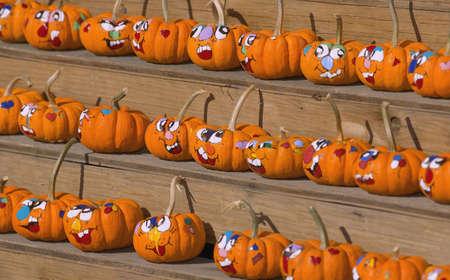 carson ganci: Pumpkin Faces