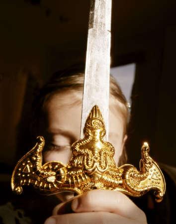 Ornamental Sword Stock Photo