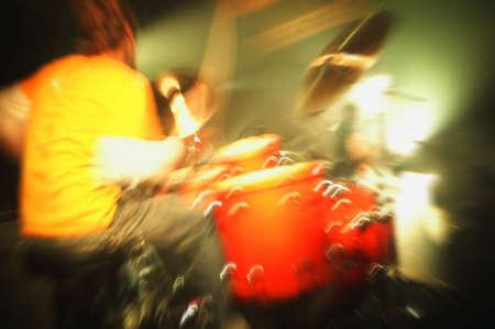 imaginor: Man playing drums