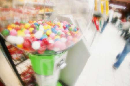 glubish: Bubble gum dispenser Stock Photo