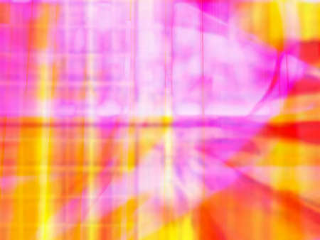 Vibrant yellow red and pink computer generated image photo