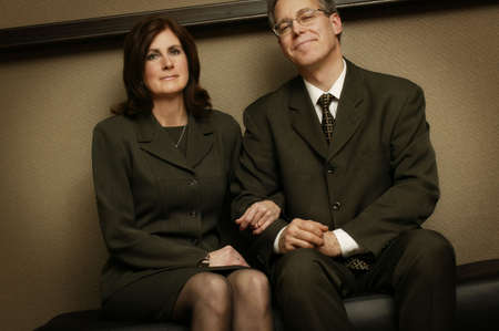 Portrait of couple photo
