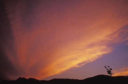 Beautiful sunset Imagens - 6214292