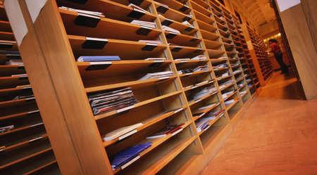 imaginor: Organized files Stock Photo
