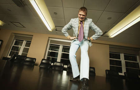 imaginor: I got style - dancing on boardroom table