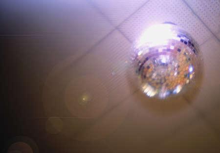 Glitter ball photo