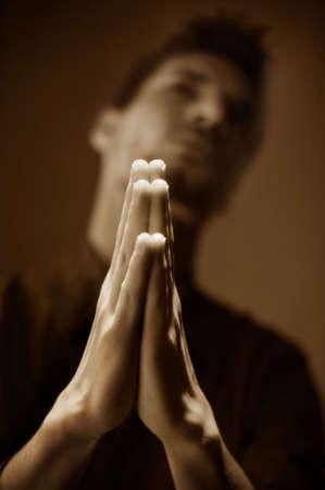 humility: Uomo di preghiera