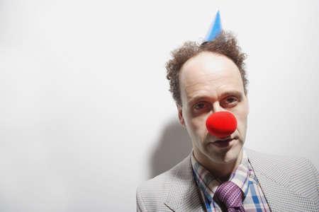 geeky: Tired clown