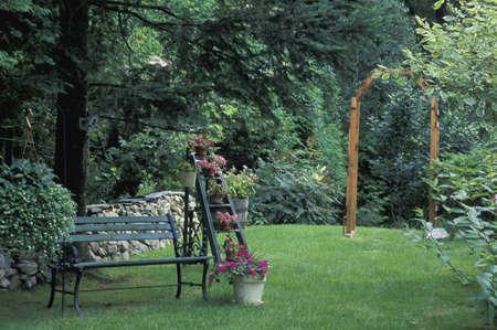 Beautiful garden scene Stock Photo - 6215712