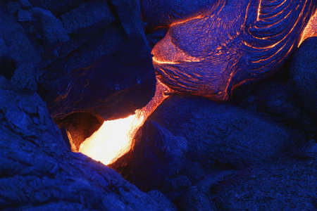 igneous: Lava flow