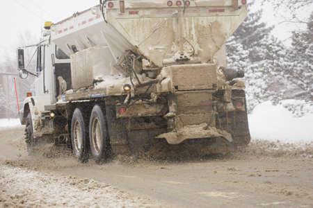 don hammond: Sanding truck
