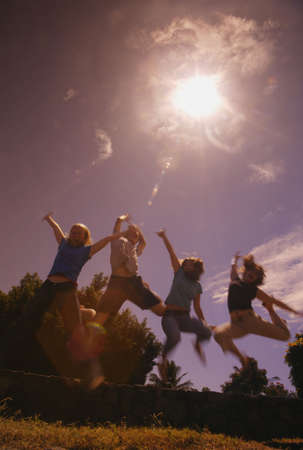 Carefree summer play photo