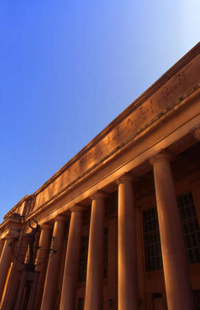 architectural detailing: Building with classical columns