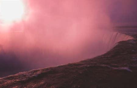 Atmospheric waterfall Stok Fotoğraf