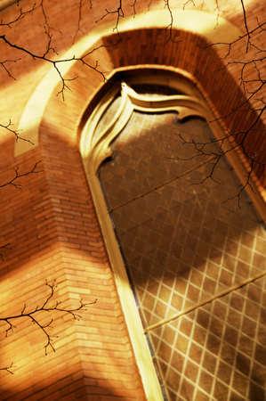 tanasiuk: A church window Stock Photo