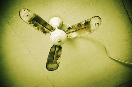 ceiling fan: Old ceiling fan