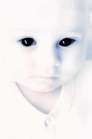 赤ちゃんの超現実的な写真