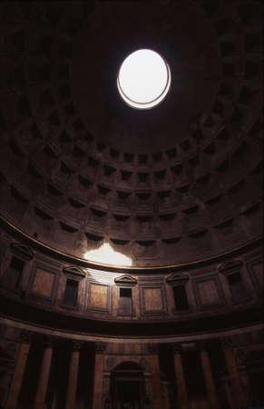 Interior of Pantheon Dome