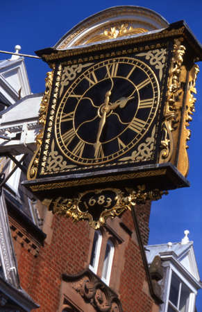 projecting: The Guildhall Projecting Clock