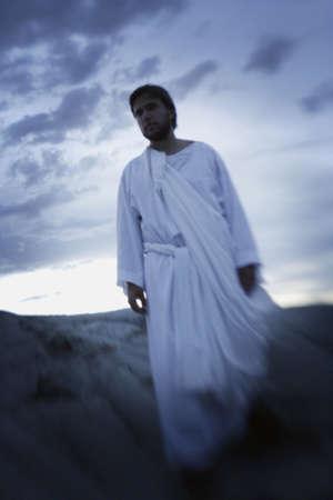 Jesus walks Stock Photo - 6215103