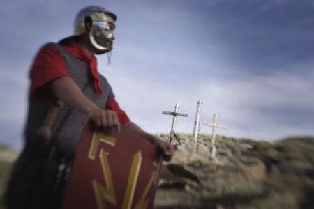 darren greenwood: A waiting Roman guard