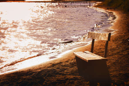imaginor: Bench by the Shore