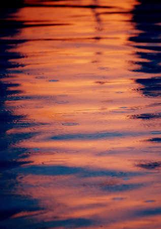 tanasiuk: Reflection of a sunset