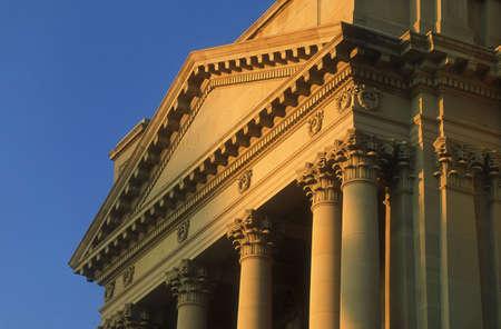 architectural detailing: Alberta Legislature, Edmonton, Canada