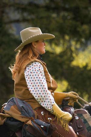 carson ganci: A woman on a horse