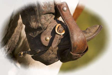 A cowboy boot photo