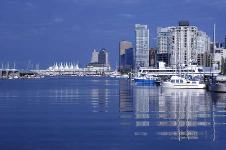 A harbor in Vancouver, BC