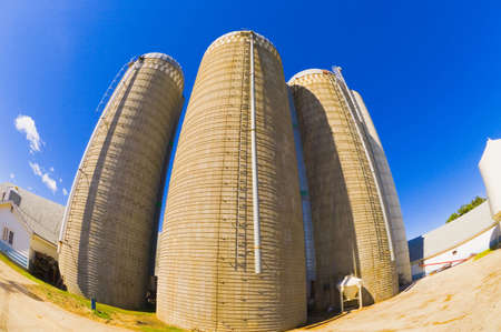 corey hochachka: Grain silos