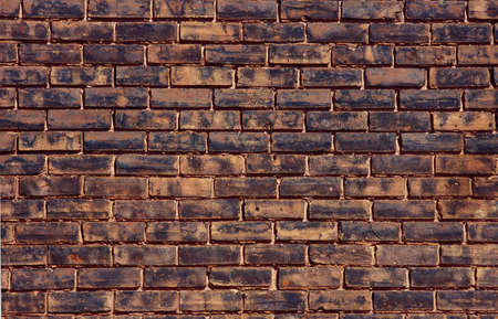 unyielding: A brick wall