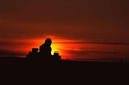 Sunrise/set Stock Photo - 5665480