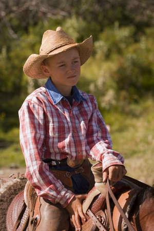 carson ganci: Portrait of a cowboy