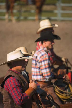 rancheros: Cowboys mirar