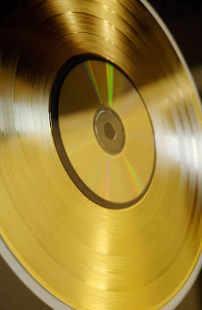 gold record: gold record