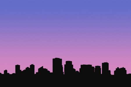 corey hochachka: A cityscape