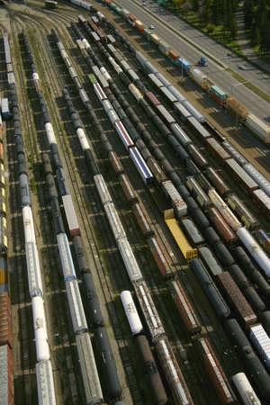 industrial park: Rail car storage