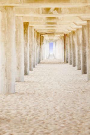 tanasiuk: Under a bridge Stock Photo