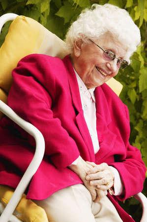 Portrait of a senior Фото со стока
