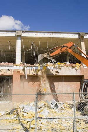 careless: Demolition on a building