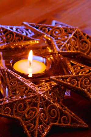 muz: Christmas candle
