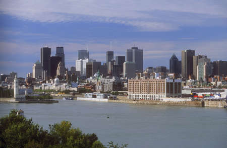 Overview of Montreal, Quebec Canada photo