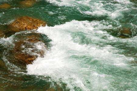 muz: Rapids in river