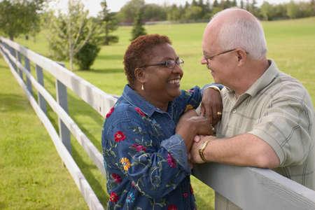 cultural diversity: Portrait of couple
