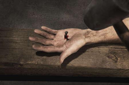 righteous: Jesus hand