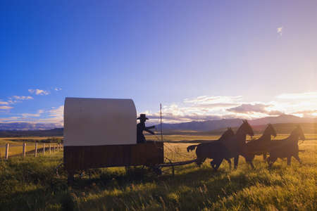 Travel by horse and carriage Stock Photo - 6215814
